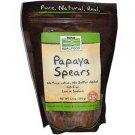 PAPAYA SPEARS  12 OZ By Now Foods
