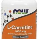 L-Carnitine Tartrate 1000 mg 50 Tabs, Now Foods