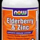 Elder-Zinc  30 Loz NOW Foods