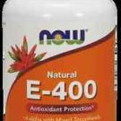 E-400 Mixed + Selenium  100 Sgels NOW Foods