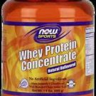 Whey Concentrate Unflavor 1.5 Lb NOW Foods