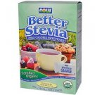 BETTER STEVIA ORGANIC PACKETS 75/BOX By Now Foods
