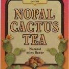 Only Natural Nopal Cactus Tea - 20 bag - Natural Mint Flavor