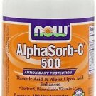 Alphasorb-C(R) 500Mg   90 Vcaps NOW Foods