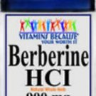 Berberine HCI 900mg 90 Caps Depression, Cholesterol, Candida,Heart, Weight Loss