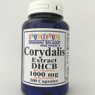 Corydalis Extract DHCB 200 Capsules 1000 mg Great For Pain Relief