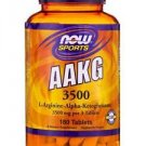 AAKG 3500 - 180 Tablets by NOW