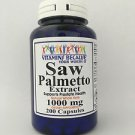 200 Caps Saw Palmetto 1000mg - Prostate Health  6+Month supply USA -FDA FACILITY
