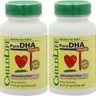 Child Life Pure DHA Soft Gel Capsules 90 caps (2 Bottle)