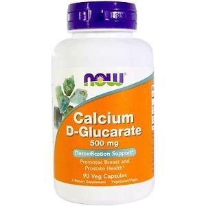 Now Foods, Calcium D-Glucarate, 500 mg, 90 Veggie Caps