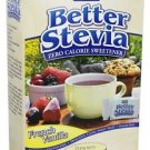 BETTER STEVIA VANILLA PACKETS  75/BOX By Now Foods