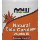 Now Foods Beta Carotene (Natural) - 90 Softgels