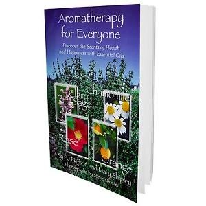 BOOK-AROMATHERAPY FOR EVERYONE By Now Foods