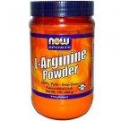 Arginine Powder Pure 1 Lb NOW Foods