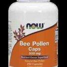 Bee Pollen 500Mg  250 Caps NOW Foods