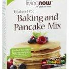 GLUTEN FREE BAKING & PANCAKE MIX  17 OZ. By Now Foods