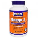 Omega-3 180 Sgels Enteric NOW Foods