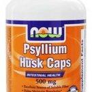 PSYLLIUM HUSK 500mg  200 CAPS By Now Foods