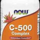 C-500 Complex  100 Tabs NOW Foods