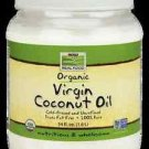 Organic Coconut Oil Virgin 54 Oz NOW Foods