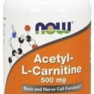 Acetyl-L-Carnitine 500mg Now Foods 100 Caps