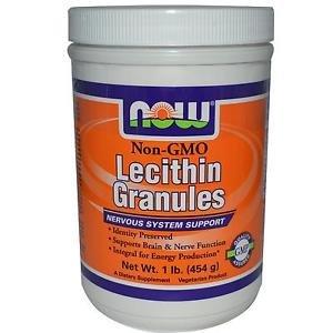 Lecithin Gran Non-Gmo 1 Lb NOW Foods