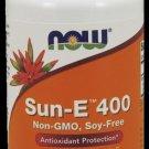 Sun-E 400 Iu   60 Sgels NOW Foods