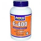 E-400 Da  250 Sgels NOW Foods