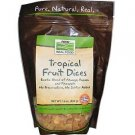 TROPICAL FRUIT MIX DICES  1 LB By Now Foods