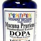 Mucuna Pruriens Standardized Extract DOPA 1000 mg 200 capsules