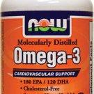 Omega-3 1000Mg  100 Sgels NOW Foods