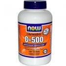 C-500 Chew Orange  100 Tabs NOW Foods