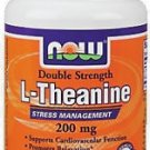 NOW Foods L-Theanine 200 mg. - 60 Vegetarian Capsules