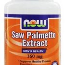 SAW PALMETTO 160mg  60 SGELS By Now Foods
