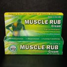 Two pack Sheffields Muscle Rub Cream (Compare to Bengay) -One 1.25oz Tube -New