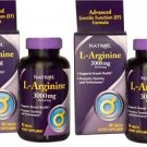 L-Arginine Advanced Formula, Natrol, 90 tablets 3000 mg 2 Packs