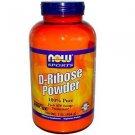 Ribose Pure Powder  1 Lb NOW Foods