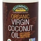 ORG COCONUT OIL VIRGIN 4x28 OZ/Case- ELLYNDALE By Now Foods