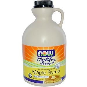 MAPLE SYRUP GRADE A AMBER ORG 32 OZ By Now Foods