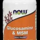 Glucos & M.S.M 750/250Mg  60 Vcaps NOW Foods