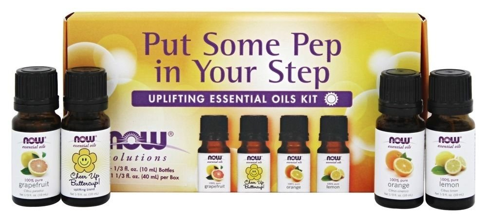 PUT SOME PEP IN YOUR STEP EO UPLIFTING KIT By Now Foods