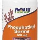 Phosphatidyl Serine 100mg Now Foods 60 VCaps