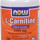 Now Foods L-Carnitine 1000Mg, 100 Tabs