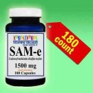 SAM-e Nervous System Mood & Joint Support Maximum Strength 1500mg 180 caps SAME