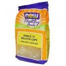 """Now Foods  Single """"0"""" Gelatin Caps - 1000 Empty Capsules"""