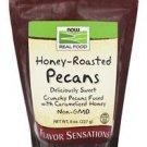 Now Foods Real Food Honey Roasted Pecans - 8 oz (227 g)