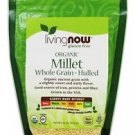 Now Foods Organic Millet Whole Gluten Free - 16 oz (454 g)