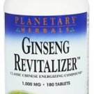 Ginseng Revitalizer 1000 mg - 180 Tablets by Planetary Herbals