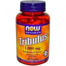 Now Foods Tribulus 1000 mg Booster 90 Tablets Natural Testosterone Sports