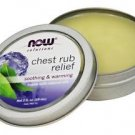 Now Foods Chest Rub Relief - 2 fl oz (59 ml)